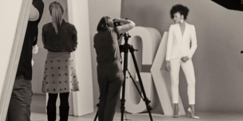 Sesja zdjęciowa dla galerii handlowej